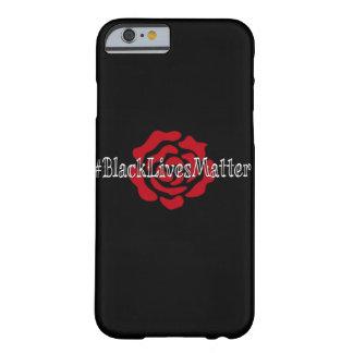 Coque iPhone 6 Barely There cas de l'iPhone 6/6s de #BlackLivesMatter