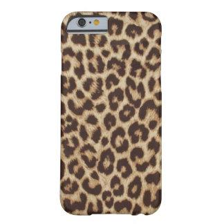Coque iPhone 6 Barely There Cas de l'iPhone 6 d'Apple d'empreinte de léopard