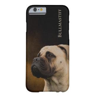 Coque iPhone 6 Barely There Cas de téléphone de Bullmastiff