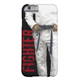 Coque iPhone 6 Barely There Cas de téléphone de combattant de Gi de BJJ Jiu