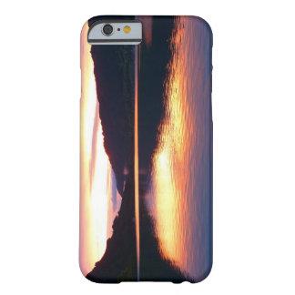 Coque iPhone 6 Barely There Cas de téléphone de coucher du soleil de lac