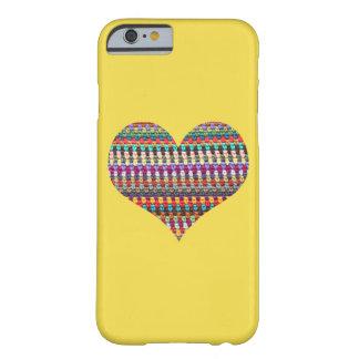 """Coque iPhone 6 Barely There Cas de téléphone de crochet - crochet de """"coeur"""""""