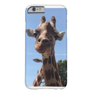 Coque iPhone 6 Barely There Cas de téléphone de girafe