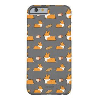 Coque iPhone 6 Barely There Cas de téléphone de pain de pain de corgi