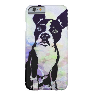 Coque iPhone 6 Barely There Cas de téléphone de terrier de Boston