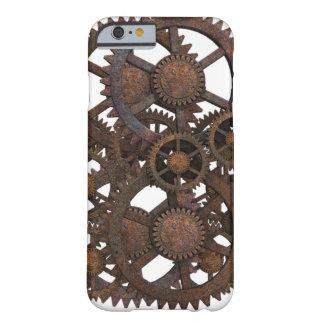 Coque iPhone 6 Barely There Cas de téléphone de vitesses de Steampunk