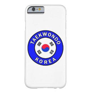 Coque iPhone 6 Barely There Cas de téléphone du Taekwondo