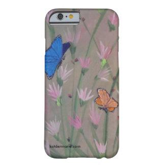 """Coque iPhone 6 Barely There Cas de téléphone - les """"papillons sont libres """""""