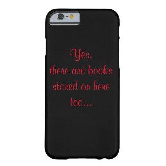 Coque iPhone 6 Barely There Cas de téléphone pour des intoxiqués de livre