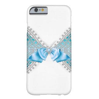 Coque iPhone 6 Barely There Cas Girly d'arc de parties scintillantes de jewell