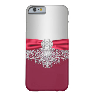 Coque iPhone 6 Barely There Cas Girly de parties scintillantes de jewell