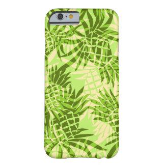 Coque iPhone 6 Barely There Cas hawaïen de l'iPhone 6 de Camo d'ananas