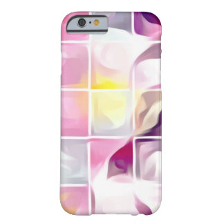 Coque iPhone 6 Barely There Cas huileux de téléphone d'art abstrait de tuiles