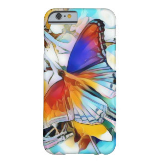 Coque iPhone 6 Barely There Cas phone6 de la conception #1 I de papillon