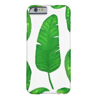 Coque iPhone 6 Barely There Cas tropical de l'iPhone 6/6s de palmettes de