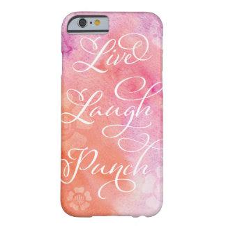 Coque iPhone 6 Barely There Cas vivant de téléphone de poinçon de rire