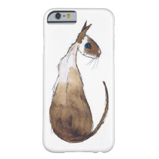 COQUE iPhone 6 BARELY THERE CAT SIAMOIS