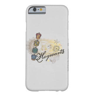 Coque iPhone 6 Barely There Chambres de Harry Potter | Hogwarts - polychromes