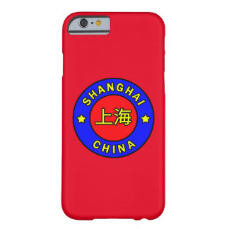 Coque iPhone 6 Barely There Changhaï Chine