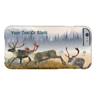 Coque iPhone 6 Barely There Chasseurs dans la brume (caribou)