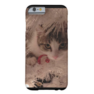 Coque iPhone 6 Barely There Chat de Noël