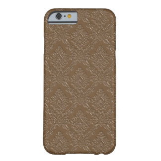 Coque iPhone 6 Barely There Chocolat