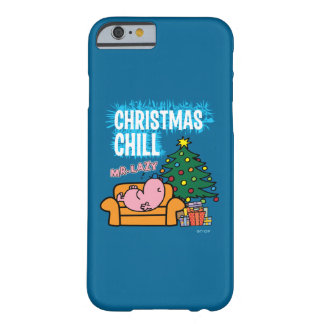 Coque iPhone 6 Barely There Christmas Chill de M. Lazy's