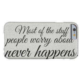 Coque iPhone 6 Barely There Citation