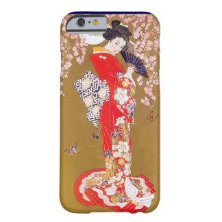 Coque iPhone 6 Barely There Clair de lune et fleurs de cerisier