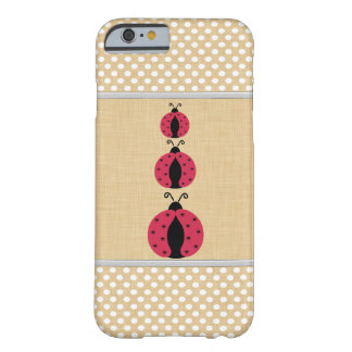 Coque iPhone 6 Barely There Coccinelle girly mignonne gaie adorable