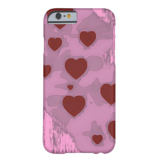 Coque iPhone 6 Barely There Coeurs peu précis