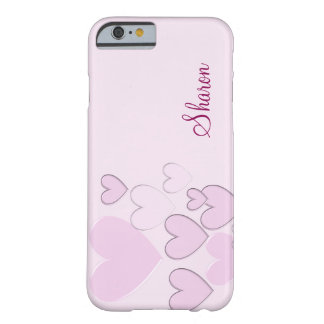 Coque iPhone 6 Barely There Coeurs romantiques