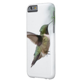 Coque iPhone 6 Barely There Colibri Rubis-throated d'oiseau animal