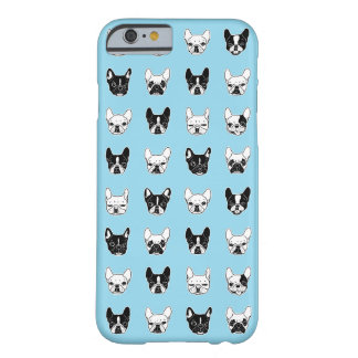 Coque iPhone 6 Barely There Collage mignon de famille de chienchien de