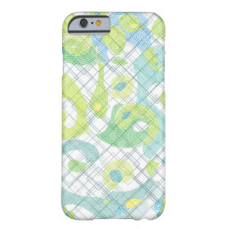 Coque iPhone 6 Barely There Conception abstraite