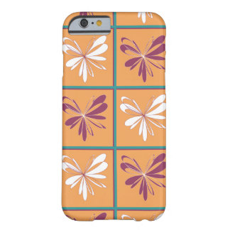 Coque iPhone 6 Barely There Conception abstraite de papillon