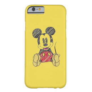 Coque iPhone 6 Barely There Couche IPhone 6/6s Mickey Mouse