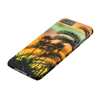 Coque iPhone 6 Barely There Coucher du soleil de désert