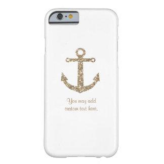 Coque iPhone 6 Barely There Couverture nautique de cas de téléphone d'ancre