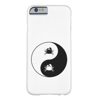 Coque iPhone 6 Barely There Crabes de Yin Yang