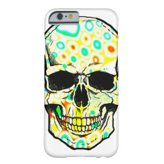Coque iPhone 6 Barely There Crâne/Crâne psychédélique