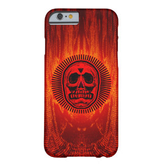 Coque iPhone 6 Barely There Crâne des rayons