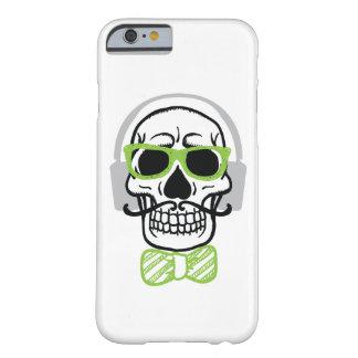 Coque iPhone 6 Barely There Crâne doux avec des écouteurs