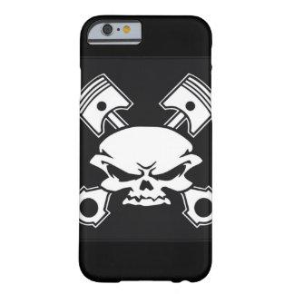 Coque iPhone 6 Barely There Crâne et pistons, tête de vitesse, type de voiture