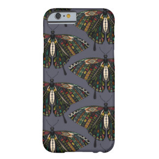 Coque iPhone 6 Barely There crépuscule de papillon de machaon