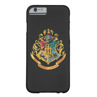 Coque iPhone 6 Barely There Crête de Harry Potter | Hogwarts - polychrome