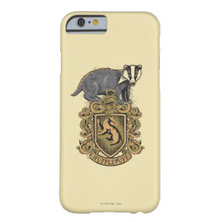 Coque iPhone 6 Barely There Crête de Harry Potter | Hufflepuff avec le
