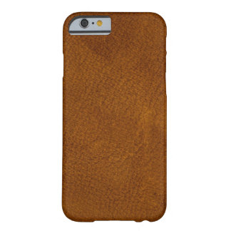 Coque iPhone 6 Barely There Cuir de Brown