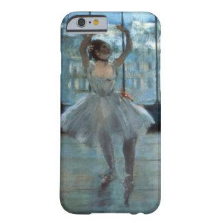 Coque iPhone 6 Barely There Danseur d'Edgar Degas | devant une fenêtre