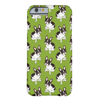 Coque iPhone 6 Barely There Double bouledogue français pie à capuchon mignon